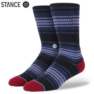 STANCE LA PATA MEN'S SOCKS (Blue) スタンス メンズソックス 靴下 ブルー スポーツ スケート アウトドア (M311C14LAP)|sports-ex
