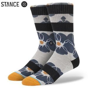 STANCE MARION MEN'S SOCKS (Green) スタンス メンズソックス 靴下 グリーン スポーツ スケート アウトドア (M311C14MAR)|sports-ex