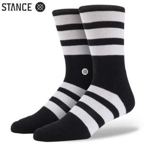 STANCE SHIFT MEN'S SOCKS (Black) スタンス メンズソックス 靴下 ブラック スポーツ スケート アウトドア (M310C13SHI)|sports-ex