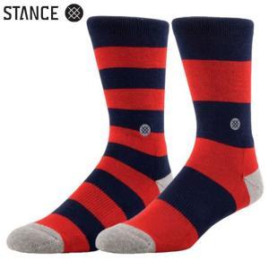 STANCE MARINER MEN'S SOCKS (Navy) スタンス メンズソックス 靴下 ネイビー スポーツ スケート アウトドア (M325C13MAR)|sports-ex