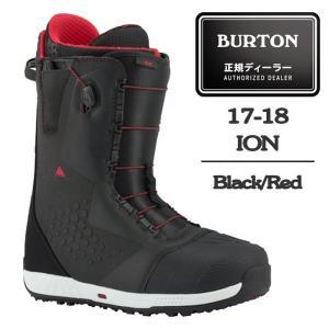 【クーポンで最大500円OFF】 2018 BURTON バートン ブーツ ION Black/Red アイオン 17-18