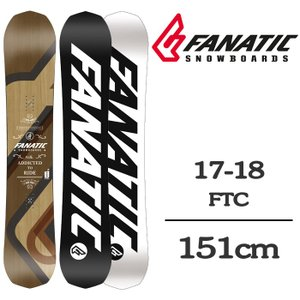 2018 FANATIC ファナティック スノーボード 板 FTC 151 エフティーシー 17-1...