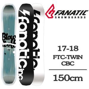 2018 FANATIC ファナティック スノーボード 板 FTC TWIN CBC 150 エフテ...