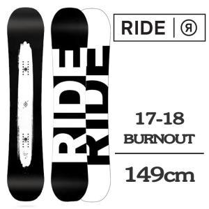 2018 RIDE ライド スノーボード 板 BURNOUT...