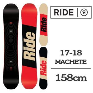 2018 RIDE ライド スノーボード 板 MACHETE...