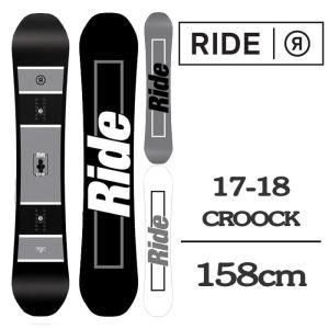 2018 RIDE ライド スノーボード 板 CROOK 1...