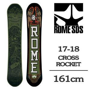 2018 ROME SDS ローム スノーボード 板 CRO...