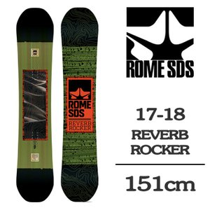 2018 ROME SDS ローム スノーボード 板 REVERB ROCKER 151 リバーブロ...