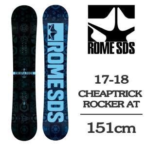 2018 ROME SDS ローム スノーボード 板 CHEAPTRICK ROCKER AT 15...