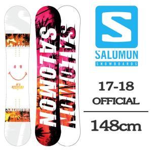 2018 SALOMON サロモン スノーボード 板 OFF...