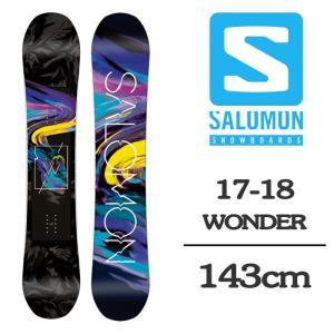 2018 SALOMON サロモン スノーボード 板 WON...