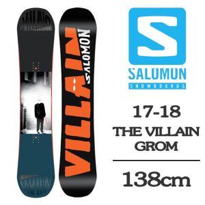 2018 SALOMON サロモン スノーボード 板 キッズ...