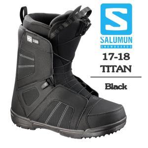 2018 SALOMON サロモン ブーツ TITAN Black タイタン 17-18