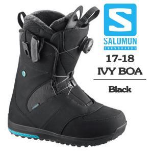 アイビー サロモン 2018 SALOMON IVY Black ブーツ 17-18