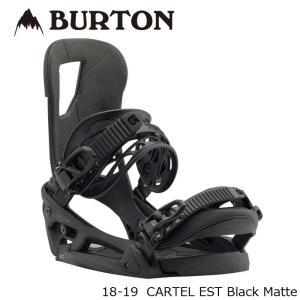 特典あり バートン ビンディング 金具 18-19 BURTON CARTEL EST Black Matte カーテル 日本正規品