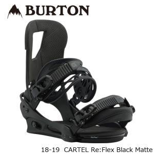 特典あり バートン ビンディング 金具 18-19 BURTON CARTEL Re:Flex Black Matte カーテル リフレックス 日本正規品