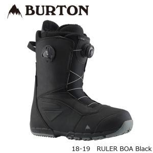 特典あり バートン ブーツ 18-19 BURTON RULER BOA Black ルーラー ボア 日本正規品