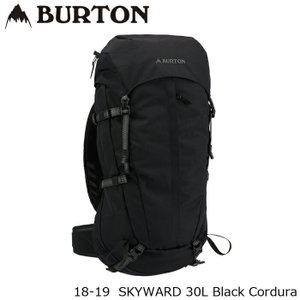 バートン バッグ 18-19 BURTON SKYWARD 30L Black Cordura バックパック 日本正規品|sports-ex