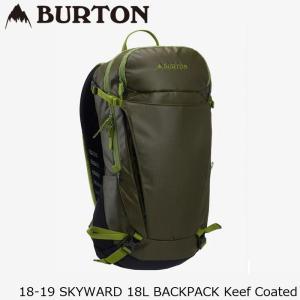 バートン バッグ 18-19 BURTON SKYWARD 18L BACKPACK Keef Coated バックパック 日本正規品|sports-ex