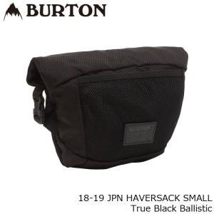 バートン バッグ 18-19 BURTON JPN HAVERSACK SMALL True Black Ballistic ショルダー 日本正規品|sports-ex
