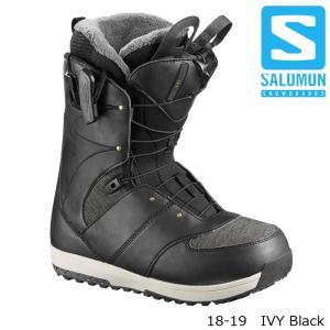 サロモン ブーツ 18-19 SALOMON IVY Black アイビー スノーボード 日本正規品|sports-ex