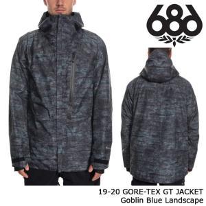 シックスエイトシックス ウェア ジャケット 19-20 686 GORE-TEX GT JACKET Goblin Blue Landscape ゴアテックス 日本正規品 sports-ex