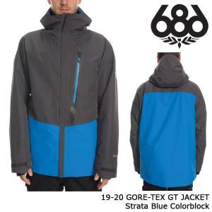 シックスエイトシックス ウェア ジャケット 19-20 686 GORE-TEX GT JACKET Strata Blue Colorblock ゴアテックス 日本正規品 sports-ex