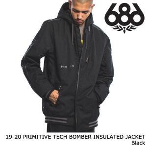 シックスエイトシックス ウェア ジャケット 19-20 686 PRIMITIVE TECH BOMBER INSULATED JACKET Black 日本正規品 sports-ex