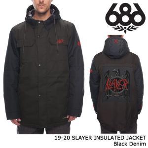 シックスエイトシックス ウェア ジャケット 19-20 686 SLAYER INSULATED JACKET Black Denim 日本正規品 sports-ex