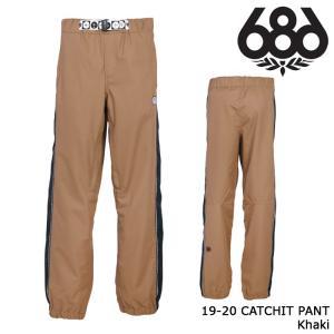 シックスエイトシックス ウェア パンツ 19-20 686 CATCHIT PANT Khaki 日本正規品 sports-ex