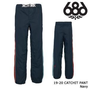 シックスエイトシックス ウェア パンツ 19-20 686 CATCHIT PANT Navy 日本正規品 sports-ex
