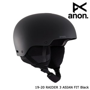 アノン ヘルメット 19-20 ANON RAIDER 3 HELMET - ASIAN FIT B...