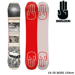 バタレオン スノーボード 板 19-20 BATALEON BOSS 154 ボス 日本正規品 sports-ex
