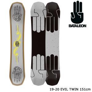 バタレオン スノーボード 板 19-20 BATALEON EVIL TWIN 151 エビルツイン 日本正規品 sports-ex