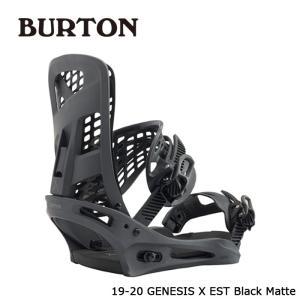 バートン ビンディング 金具 19-20 BURTON GENESIS X EST Black Matte ジェネシスエックス 日本正規品 sports-ex