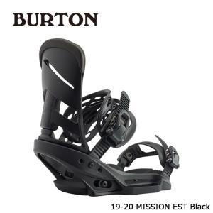 バートン ビンディング 金具 19-20 BURTON MISSION EST Black ミッション 日本正規品 sports-ex