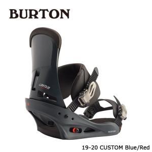バートン ビンディング 金具 19-20 BURTON CUSTOM Re:Flex Blue/Red カスタム リフレックス 日本正規品 sports-ex