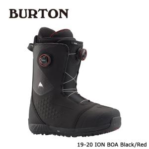 バートン ブーツ 19-20 BURTON ION BOA Black/Red アイオン ボア 日本正規品|sports-ex
