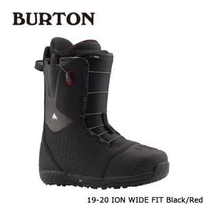 バートン ブーツ 19-20 BURTON ION - WIDE FIT Black/Red アイオン ワイドフィット 日本正規品|sports-ex