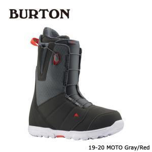バートン ブーツ 19-20 BURTON MOTO Gray/Red モト 日本正規品|sports-ex