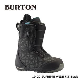 バートン ブーツ 19-20 BURTON SUPREME - WIDE FIT Black サプリーム ワイドフィット 日本正規品|sports-ex
