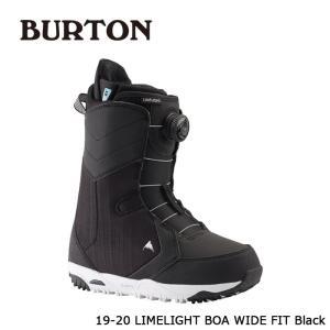 バートン ブーツ 19-20 BURTON LIMELIGHT BOA - WIDE FIT Black ライムライト ボア ワイドフィット 日本正規品|sports-ex