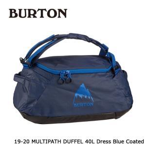 バートン ダッフルバッグ 19-20 BURTON MULTIPATH DUFFEL S 40L Dress Blue Coated トラベル 旅行 日本正規品|sports-ex