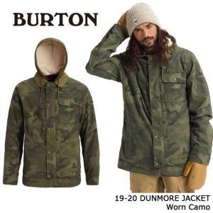 バートン ウェア ジャケット 19-20 BURTON DUNMORE JACKET Worn Ca...