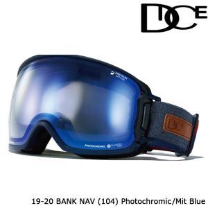 ダイス ゴーグル 19-20 DICE BANK NAV(104) PHOTOCHROMIC/MIT BLUE BK95191NAV ジャパンフィット 日本正規品|sports-ex