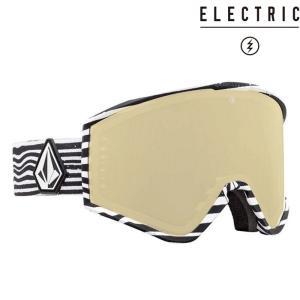 エレクトリック ゴーグル 19-20 ELECTRIC KLEVELAND VOLCOM CO-LAB Brose Light/Gold Chrome Jp 20KV アジアンフィット 日本正規品|sports-ex