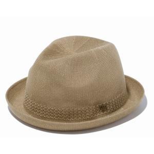 ニューエラ NEW ERA フェドーラ ニット カーキ アンティークブラスピン ハット 帽子 日本正規品|sports-ex