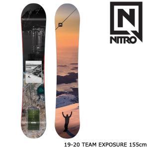 ナイトロ スノーボード 板 19-20 NITRO TEAM EXPOSURE 155 チームエクスポージャー|sports-ex