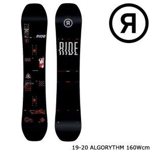 ライド スノーボード 板 19-20 RIDE ALGORYTHM 160W アルゴリズム ワイド 日本正規品|sports-ex