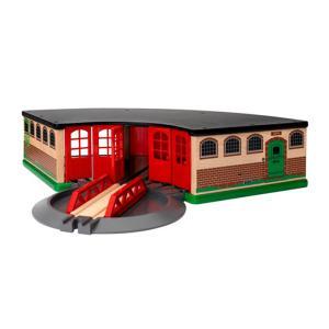 ブリオ おもちゃ BRIO GRAND ROUNDHOUSE 33736 大型車庫 オモチャ 玩具|sports-ex